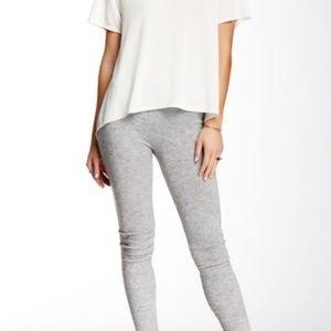 NWT Free people light grey leggings size large